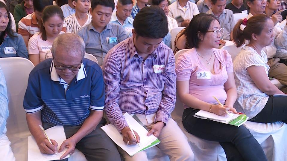 Anh Vũ Văn Thành, 30 tuổi, quản lý kho của Công ty Nguyễn Kim
