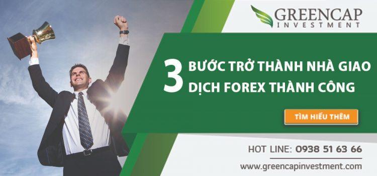 3 bước để trở thành nhà giao dịch Forex thành công