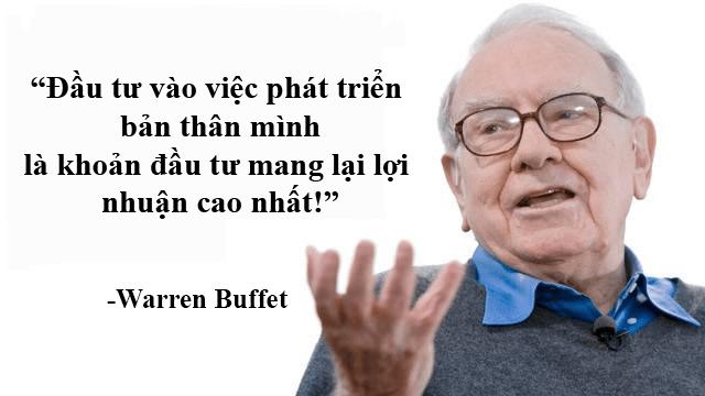 Đầu tư vào bản thân là đầu tư khôn ngoan nhất