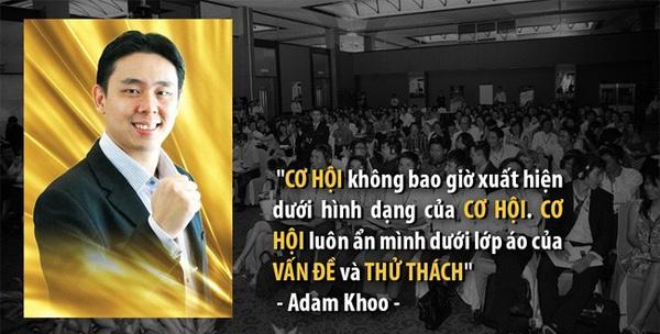 Adam Khoo làm giàu từ đầu tư tài chính từ khi còn rất trẻ