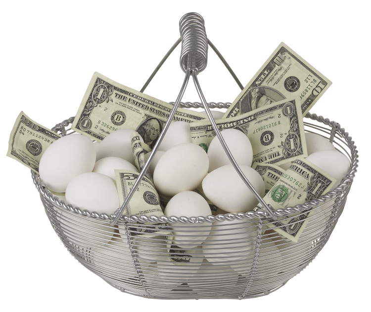 Đừng để tất cả trứng vào một rổ