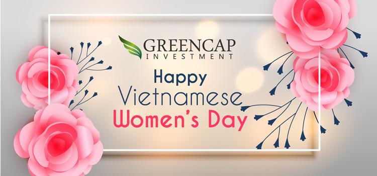Greencap Investment chúc mừng ngày phụ nữ Việt Nam