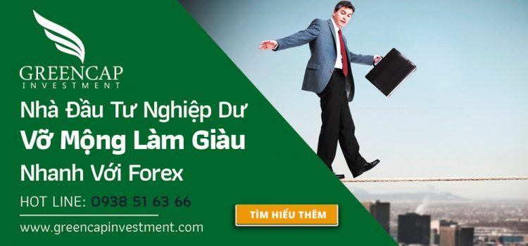 Nhà đầu tư nghiệp dư thua lỗ trên thị trường Forex