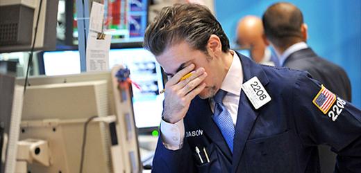 Nhà giao dịch Forex thua lỗ