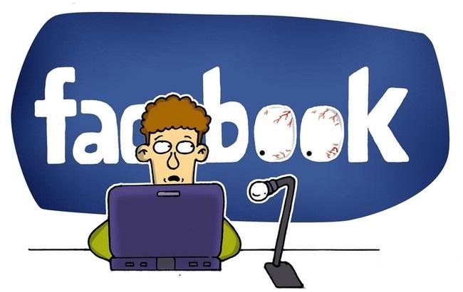 việc bớt thời gian lướt facebook