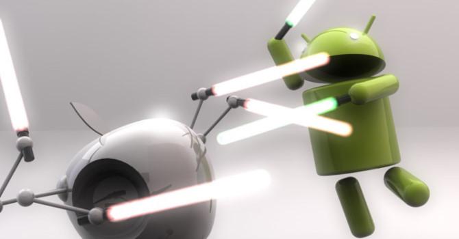Ngay cả các ông lớn về công nghệ như Apple và Google cũng nhiều lần sao chép của nhau