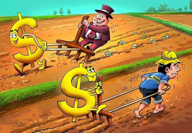 Người nghèo làm việc vất vả để kiếm tiền để tiết kiệm, người giàu bắt tiền làm việc cho họ